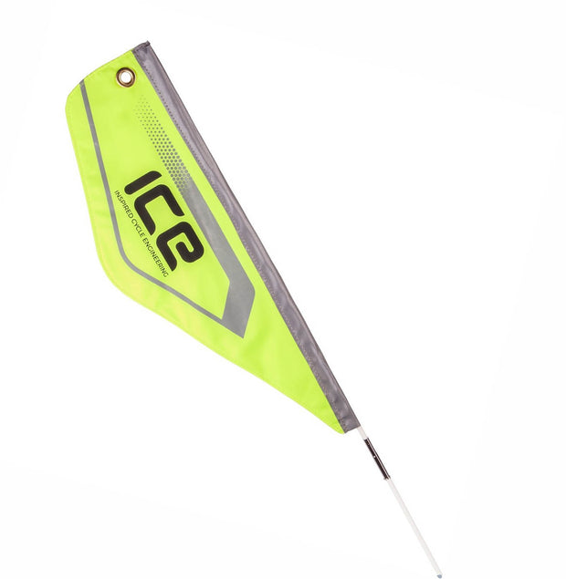 ICE Three Piece Reflective Safety Flag