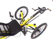 HP Velotechnik Scorpion fs 20 Colza Yellow Trike