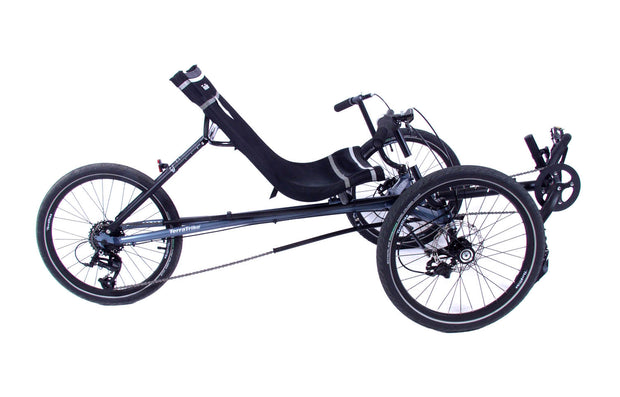 TerraTrike Maverick x8 Steel Blue Trike