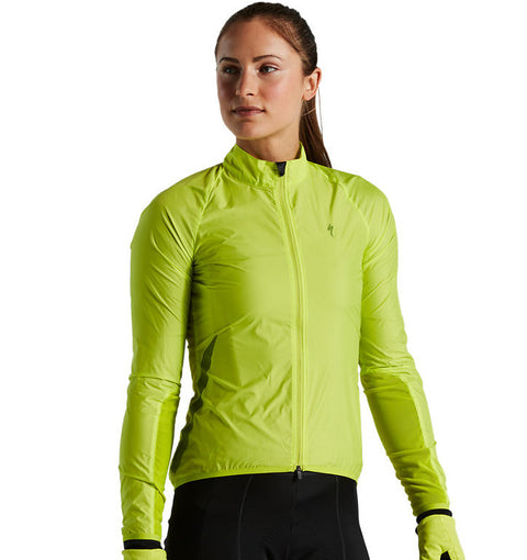 Specialized Womens Race Series Wind Jacket Hyperviz