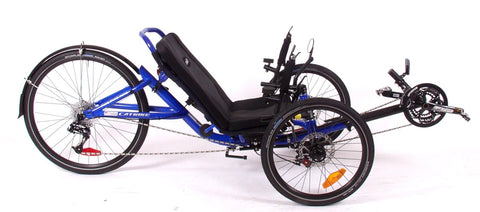 Catrike 5.5.9. Electric Blue Trike