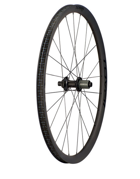 Specialized Roval Terra CLX HG Rear Wheel Satin Cbn/Gloss Blk 700c