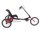 Hase Trigo Up Red Delta Trike