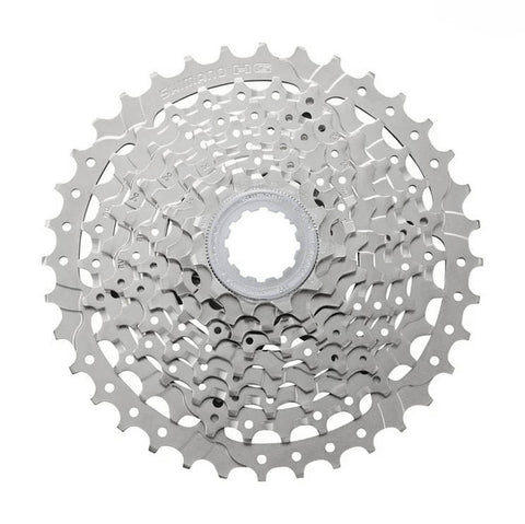 Shimano Alivio CS-HG400 9 Speed 11-36t Silver Nickel Plated Cassette