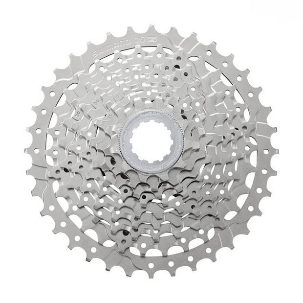 Shimano Alivio CS-HG400 Cassette - 9 Speed, 11-36t, Silver, Nickel Plated