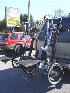 "Draftmaster Auto Rack HR-2D Trike - 2"" Hitch"
