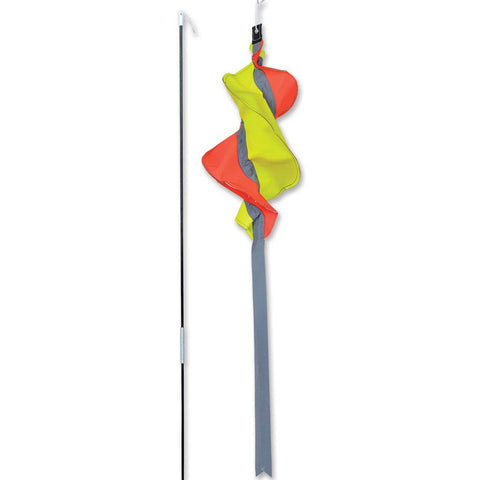 SoundWinds Reflective Turi Spinning Bike Windsock