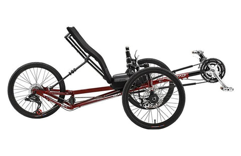 Sun Seeker EZ-Tad SX Trike  20/20 Fire Red
