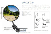 B&M Cyclestar Mirror Short