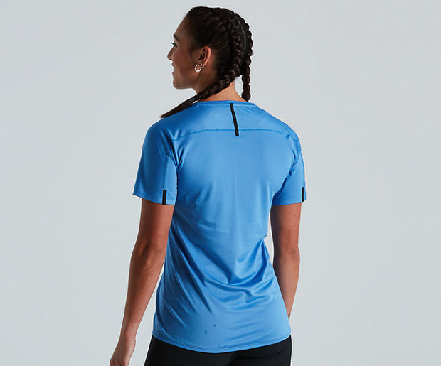 Specialized Trail Air Jersey Womens Sky Blue
