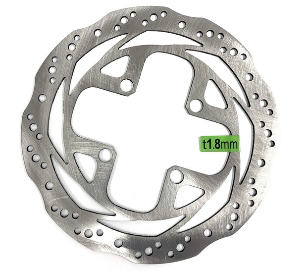 Rohloff Speedhub Disc Brake Rotor 160mm 4-Bolt Silver