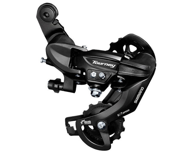 Shimano Tourney RD-TY300 SGS Rear Derailleur 6/7 Speed Long Cage Black Rear Direct Mount