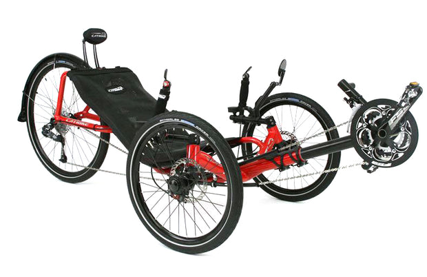 Catrike Expedition Lava Red Trike