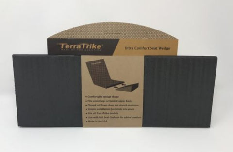 TerraTrike Seat Wedge Cushion: Extended Width