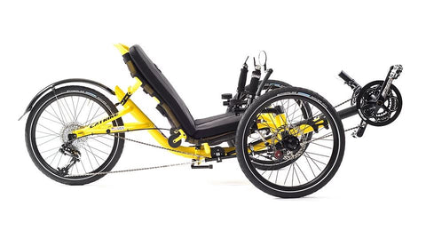Catrike Trail Firefly Yellow Trike