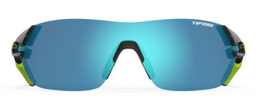 Tifosi Slice Sunglasses Crystal Smoke Interchangeable Clarion Blue/AC Red/Clear