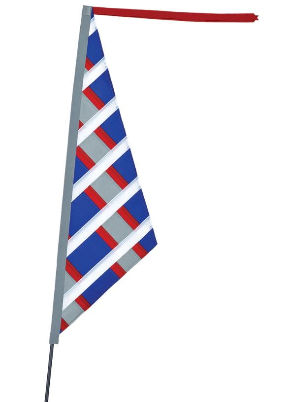 SoundWinds Reflective Sail Recumbent Bike Flag