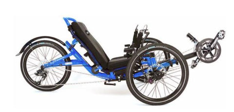 Catrike Trail Firefly Electric Blue Trike