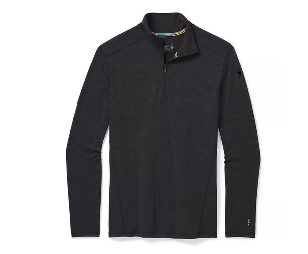 Smartwool Men's Merino 250 Baselayer 1/4 Zip CHARCOAL HEATHER