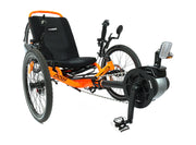 Catrike 5.5.9. Bosch eCat Atomic Orange Trike