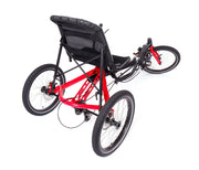 Hase Trigo USS 24 Speed w/Chainguard & Differential Red Recumbent Trike