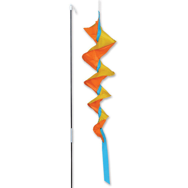 SoundWinds Small Fusilli Spinning Bike Windsock