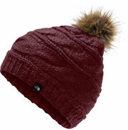 The North Face Triple Cable Fur Pom