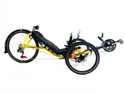 Catrike Expedition Firefly Yellow Trike