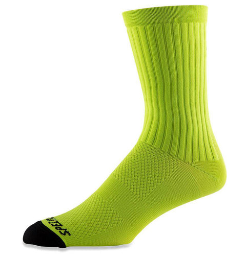 Specialized Hydrogen Aero Tall Road Socks Hyper Green