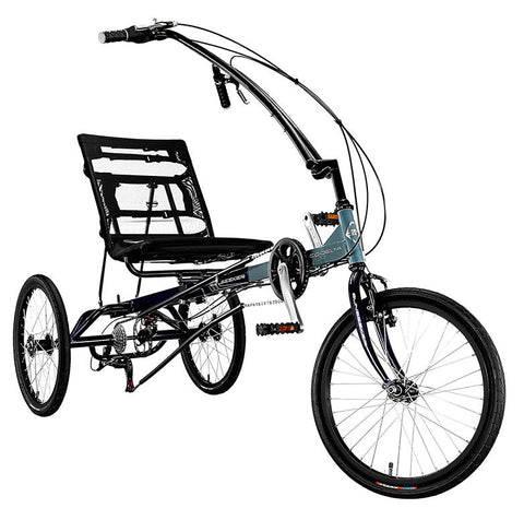Sun Seeker Eco-Delta SX 20/20 7 Speed Blue/Grey Trike