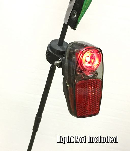 T-Cycle Rubber Light Mount for Flags