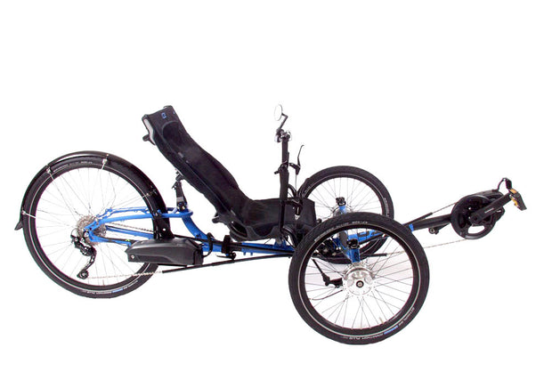 ICE Adventure HD 26 Shimano Steps 8000 Blue Trike