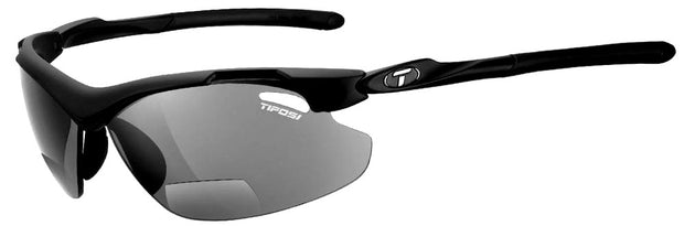 Tifosi Tyrant 2.0 Matte Black w/Smoke Lens Reader Sunglasses