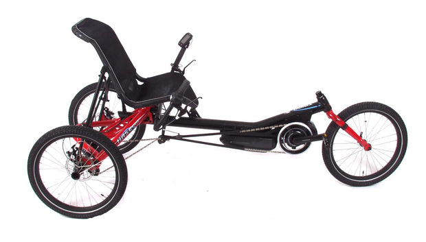 Hase Trigo USS Steps 5000 w/Differential Red Delta Trike