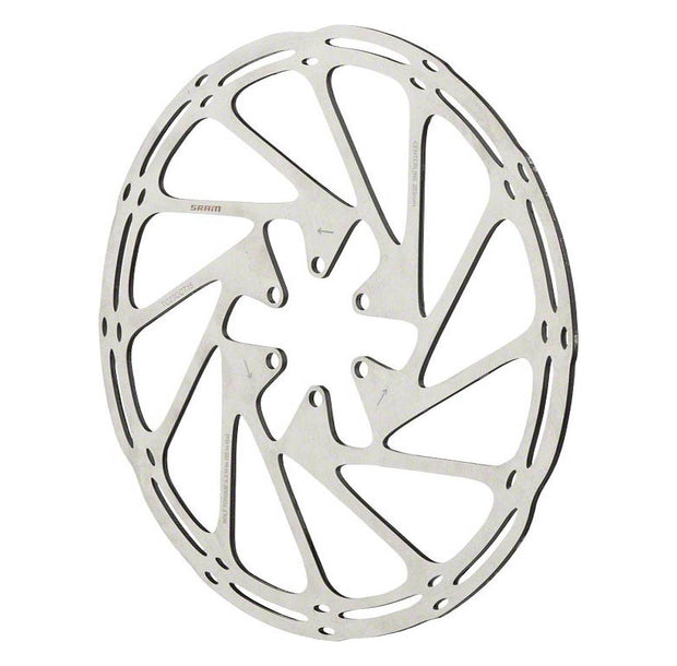 SRAM CenterLine Disc Brake Rotor 6 Bolt Silver