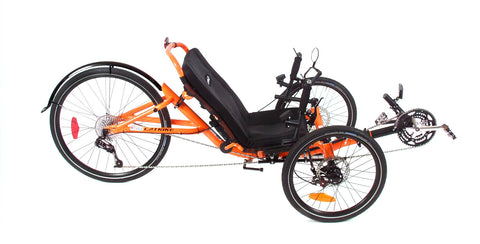 Catrike 5.5.9. Atomic Orange Compact Trike