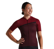 Specialized Womens SL Stripe Jersey Crimson