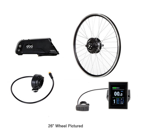 "Electric Bike Outfitters Burly Front 20"" Black 48v"