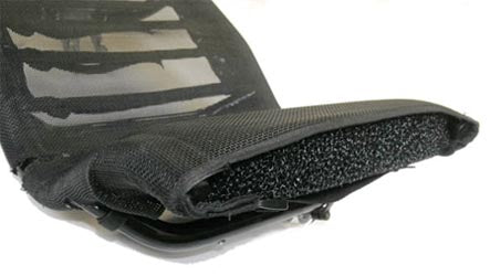 ICE Breathable Seat Pad/Foam Insert For Heavy Duty Seats