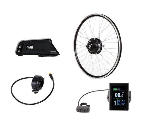 "Electric Bike Outfitters Burly 26"" 10 Spd 48v Kit"