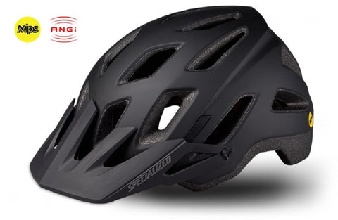 Specialized Ambush Comp MIPS w/ANGi Helmet Black/Charcoal