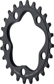 Dimension Aluminum 74mm BCD Inner Black Chainring