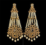 Pearly Jhumka Earrings