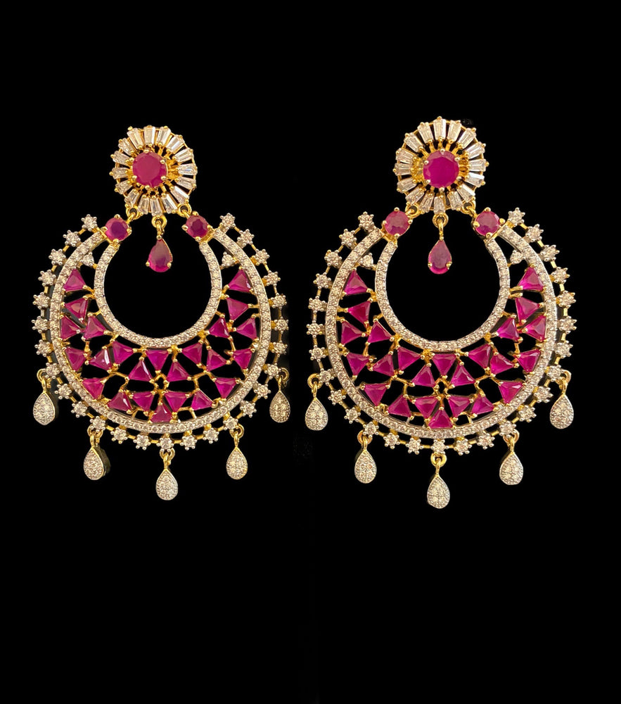 Ruby Fashion Earrings