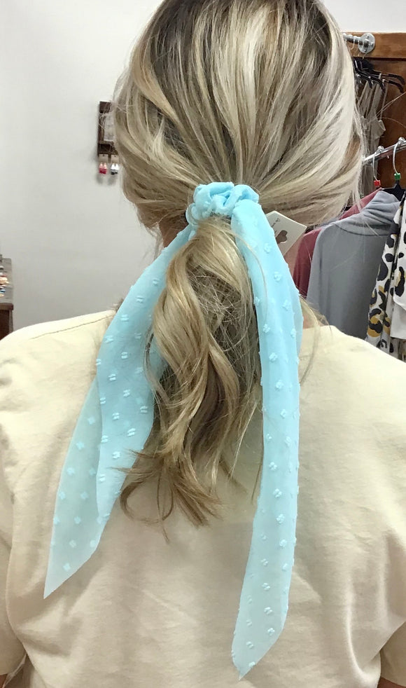 Long Scrunchie Hair Scarf