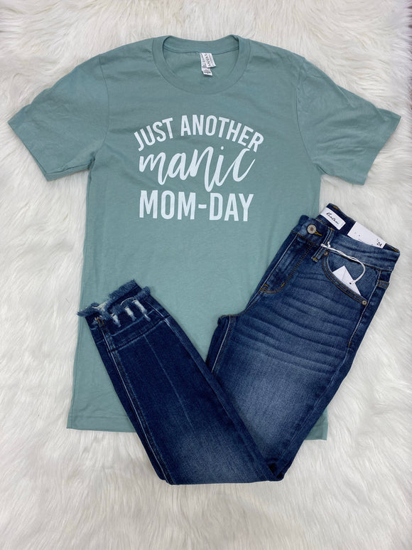 Just Another Manic Mom-Day Graphic Tee