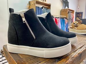 Alba Wedge Sneakers