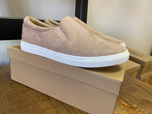 Slip On Sneakers - Taupe