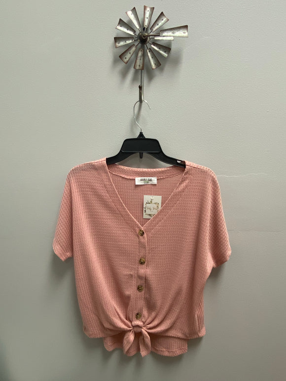 Desert Rose Button Up Top