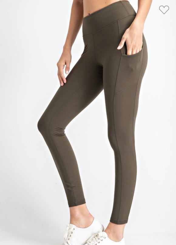 Olive Everyday Leggings